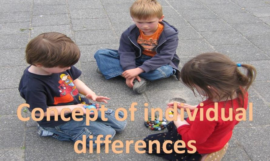 Concept of individual differences