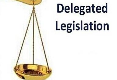 Reasons for the growth of delegated legislation